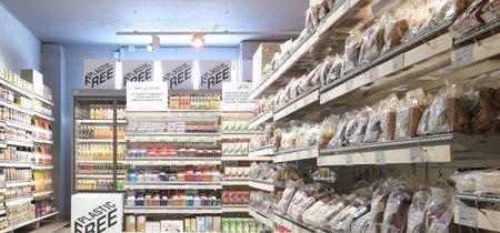 """Un pasillo """"sin plástico"""" en los supermercados para reducir el consumo de envases"""