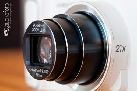 Samsung Galaxy Camera Lente
