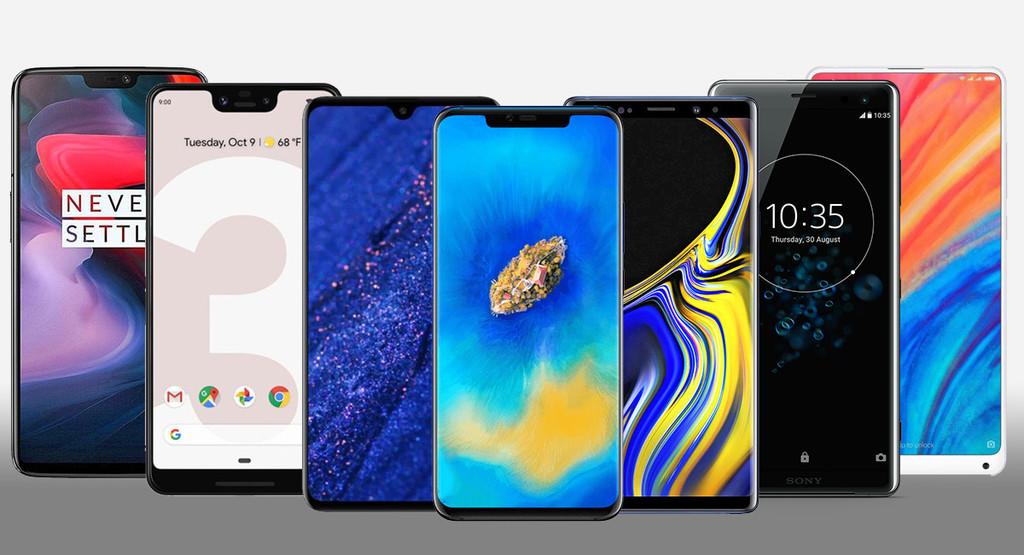 Huawei Mate 20 y Mate 20 Pro, comparativa: así quedan contra Pixel 3 XL, OnePlus℗ 6, Mi Mix 2s y resto de gama alta de Android