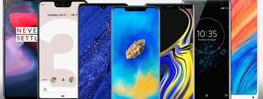 Huawei Mate 20 y Mate 20 Pro, comparativa: así quedan contra Pixel 3 XL, OnePlus 6, Mi Mix 2s y resto de gama alta de Android