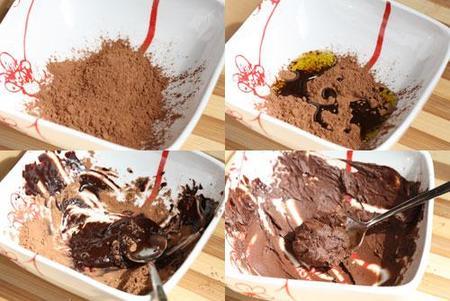 Pasos para hacer una mascarilla de cacao