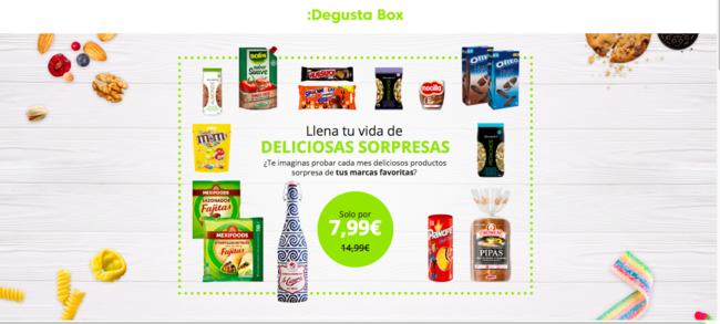 Con este cupón podrás recibir tu primera Degustabox por 7,99 euros