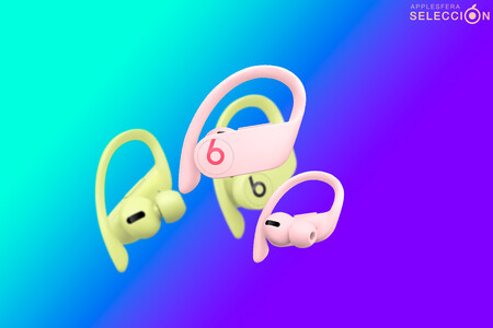 Los Powerbeats Pro en sus nuevos colores Amarillo primavera y Rosa cielo están más baratos que nunca en Amazon: 179,90 euros