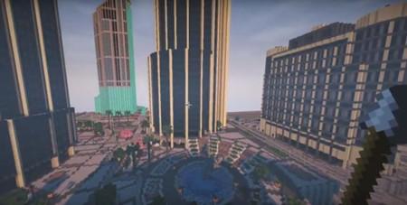 Un año después, así va el proyecto de recrear la ciudad de GTA V en Minecraft