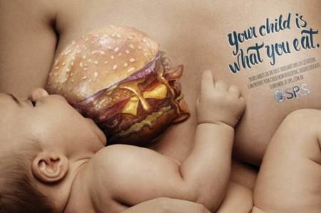 """""""Tu hijo es lo que comes"""": cuando una campaña de salud se convierte en un incentivo para dar leche artificial"""