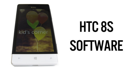 HTC 8S - software