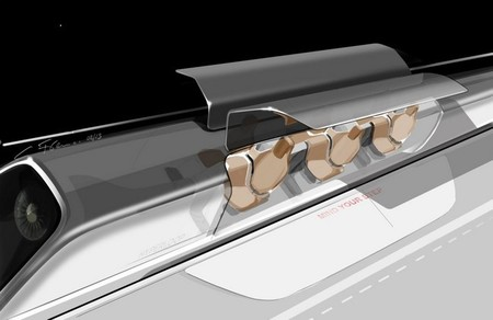 hyperloop capsula abierta