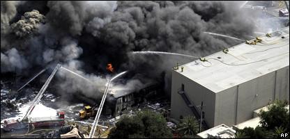 Incendio en los Estudios Universal