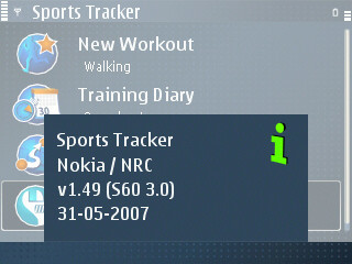 Nokia Sports Tracker v1.49