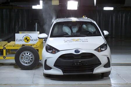El Toyota Yaris estrena la primera ronda de pruebas del año de Euro NCAP, y lo hace con todas las estrellas