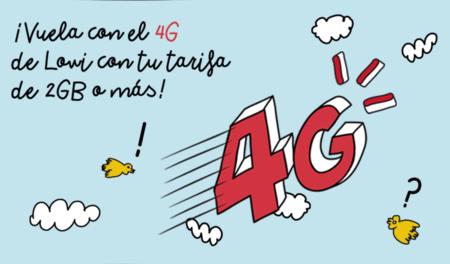 El 4G llega a Lowi, para bonos a partir de dos gigas