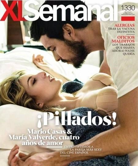 Mario Casas y María Valverde promocionan 'La mula' a golpe de portada calentorra