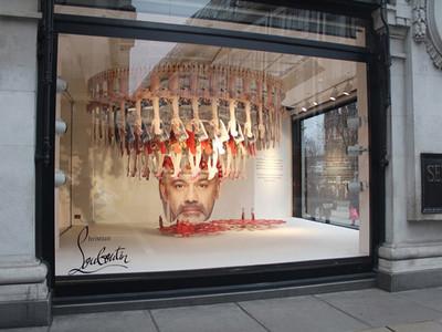 El Pop-up Store de Louboutin en Selfridges para conmemorar el 20 Aniversario de la firma