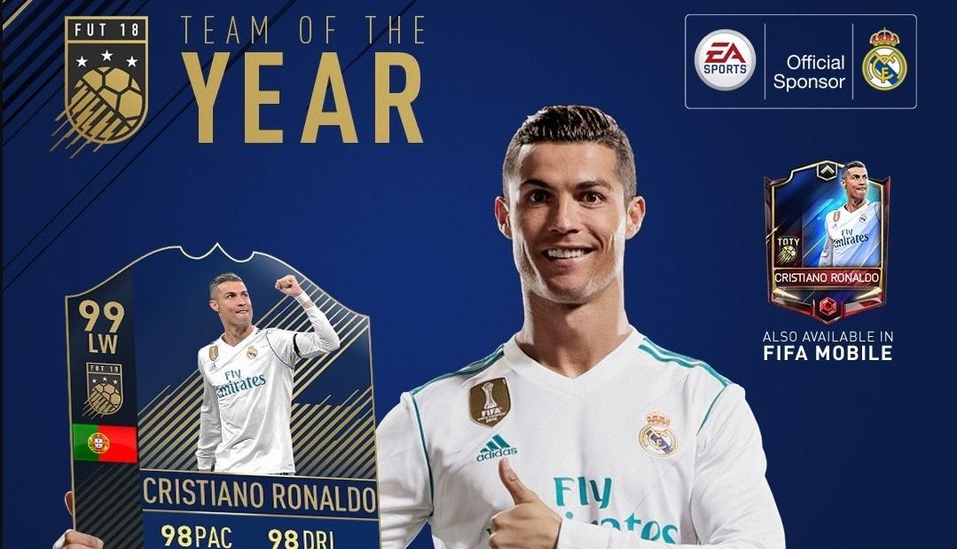 fafc0d10a Ronaldo es el único futbolista en FIFA 18 con una carta de 99. Y tiene su  porqué