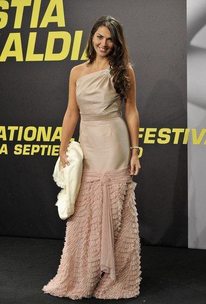 Lorena Bernal en la la clausura del Festival de San Sebastián