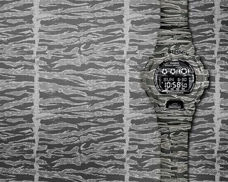 Más duros que los tipos que los llevan: Reloj Casio G-Shock Camo