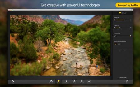 focus 2 mac desenfoque fotografía