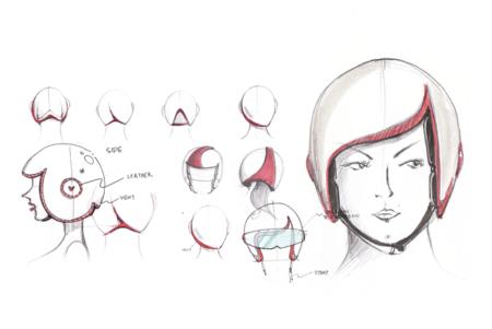 Luxy Vespa helmet
