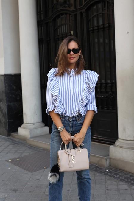 Ladyaddict Street Style Camisa Rayas