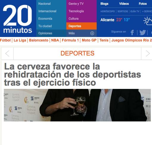 Foto de Cerveza y Deporte (5/6)