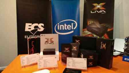 ECS prepara nuevos modelos de LIVA con Intel Core M y Braswell de 14nm