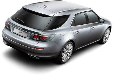 Saab 9-5 Wagon, el familiar para el Salón de Ginebra