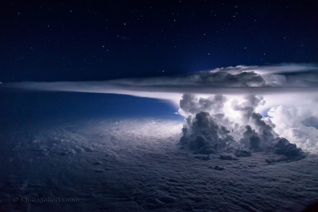 Santiago Borja Fotos Tormentas Desde Avion 11