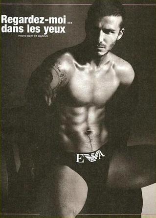 ¡Más fotos de David Beckham para Armani Underwear!