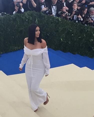 Kim Kardashian demasiado sosa en la Gala MET 2017