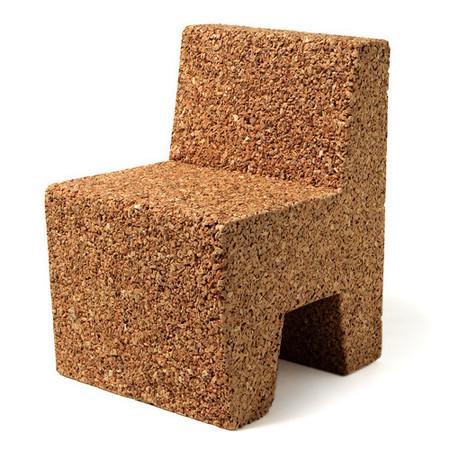 Una mala idea: una silla infantil de corcho