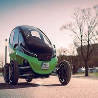 El rival polaco del Renault Twizy es un pequeño vehículo eléctrico que puede variar su anchura según la velocidad