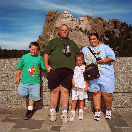 Family At Mt Rushmore Sd