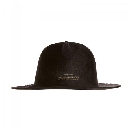 Horned Rabbit Fur Hat
