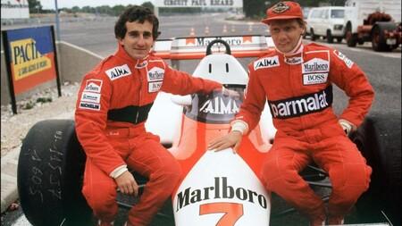 Lauda Prost Mclaren F1 1984 2