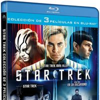 Trilogía Star Trek, en Blu-ray, por 23,88 euros en Amazon
