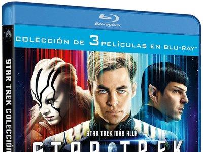 Trilogía Star Trek, en Blu-ray, por 23,88 euros en Amazon