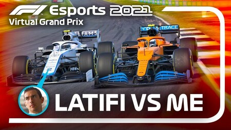 Latifi Norris F1 Virtual 2021