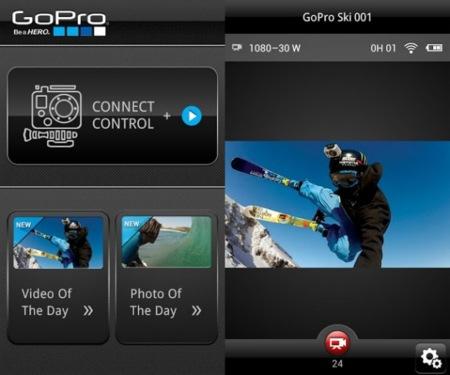 Las cámaras GoPro, también controlables desde Android