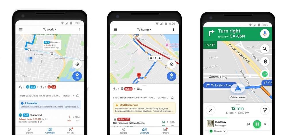 Google Maps mejora su info en tiempo real y permitirá conocer si hay asientos libres en el siguiente bus
