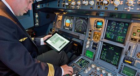 Airbus EFB iPad