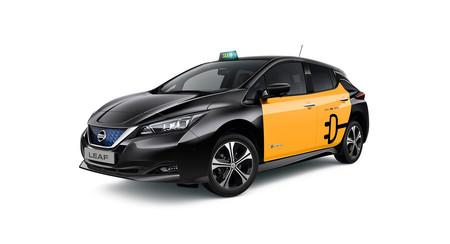 Nissan Leaf, taxi Barcelona