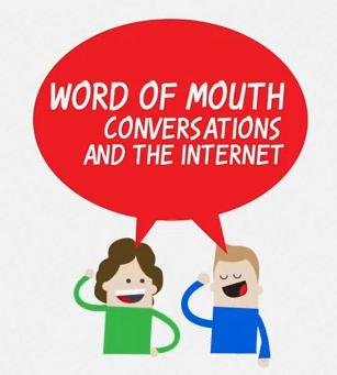 Según el todopoderoso Google, el boca a boca en Internet está tomando mucha fuerza