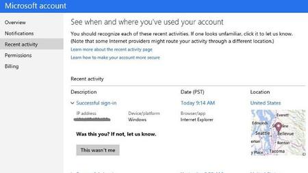 Nuevas medidas para reforzar un poco más la seguridad de las cuentas Microsoft