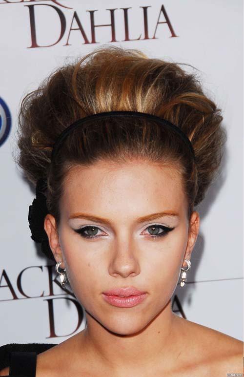 Foto de Peinados navideños, por Scarlett Johansson (1/9)
