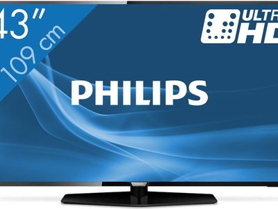 Smart TV Philips de 43 pulgadas, con resolución 4K, por 359 euros y envío gratis