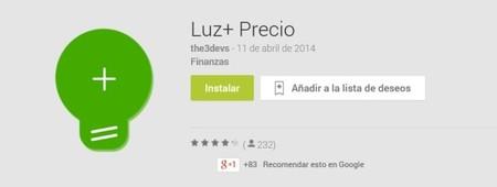 Luz + Precio: App para ayudarnos a ahorrar en el complicado mundo de las ´tarifas eléctricas`