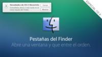 Pestañas y etiquetas en Finder, novedades de OS X Mavericks