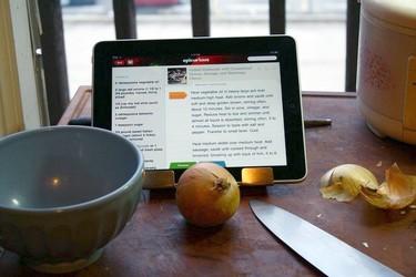 Exprime tu tablet con estas 5 apps para ayudarte en la cocina