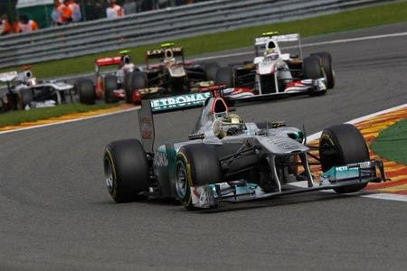 Michael Schumacher en Spa