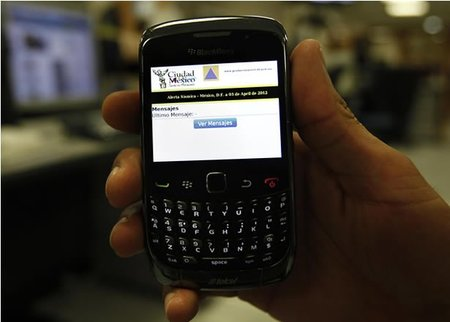 El GDF desarrolla alerta sísmica para teléfonos BlackBerry